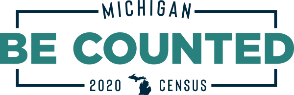 US Census Be Counted Logo
